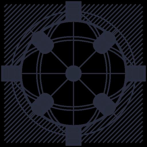 Coin Metrics Network Data Icon